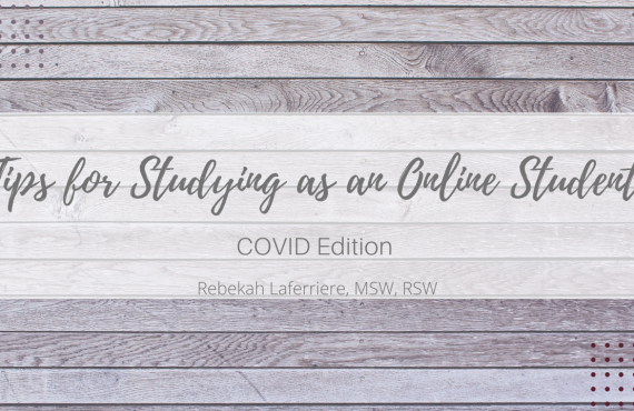 Tips for Studying as an Online Student